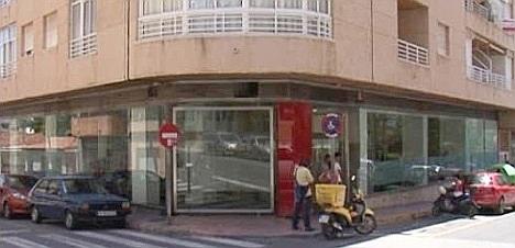 Oficina del Sevef en Torrevieja (Plaza de María Asunción)