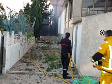 VIDEO. Incendio patio Museo S.Sta. (Vicente Rizo)