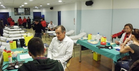 Donación sangre en el CIAJ (Archivo)