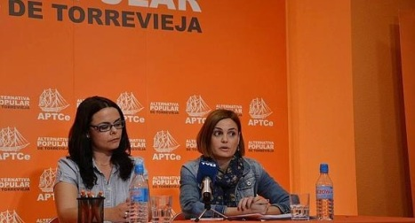 Susana del Arco y Laura Javaloyes (F.Reyes)