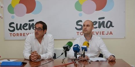 """Pablo Samper y  Alejandro Blanco de """"Sueña Torrevieja"""""""