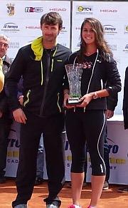 Eva Gerrero con J.Carlos Ferrero
