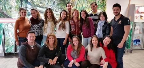 Algunos de los alumnos participantes en el curso