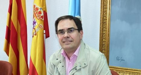 El concejal de hacienda, Joaquín Albaladejo en su comparecencia de ayer