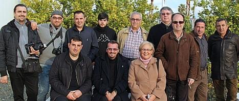 Director y algunos de los colaboradores de Objetivo Torrevieja