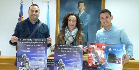 Marvi, Rosario y Gustavo muestran los reclamos de la I Lan Party