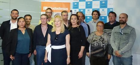 Candidadatos de Ciudadanos