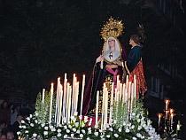 VÍDEO. Saeta a la Virgen del Silencio