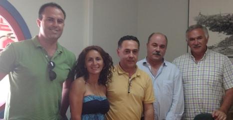 El  Delegado en Torrevieja Oscar Ortasun, en una reunión (Archivo) ,