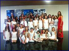 Foto de familia de la Escuela