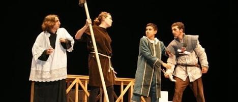 Actuación Escuela Municipal de Teatro en las XIII Jornadas