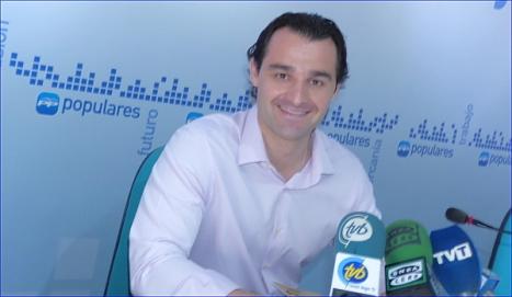 Eduardo Dolón, portavoz del Grupo Popular