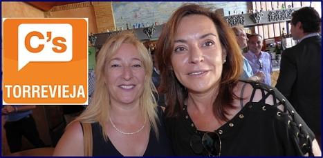 """Pilar Gomez Magán y Paqui Torres, concejalas  de """"Ciudadanos"""""""