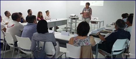 Reunion en el CDT de nuevas empresas de SIntec