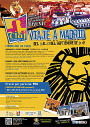 Viaje a Madrid Septiembre