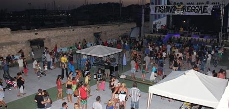 Aspecto de las Eras de la Sal en el Primer Festival
