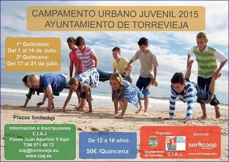 Campamento urbano 2015