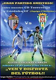 Cartel promocional CD Torrevieja - C_rdoba CF