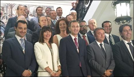 Foto de familia de la nueva Diputación Provincial de Alicante