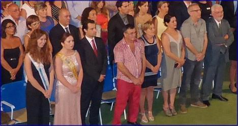 Eduardo Dolón, vide presidente de la Diputación en la Gala de Clausura