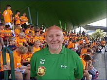 Roy Pedersen en la Escuela de Fútbol