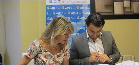 Eduardo Dolón con Cristina Rodes