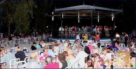Aspecto del Jardín de Doña Sinforosa durante la V Jornada (Archivo)