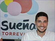 """Federico Gadea, de 27 años. Presidente de """"Sueña Torrevieja"""""""