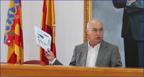 Domingo Soler, ayer en el Salón de Plenos