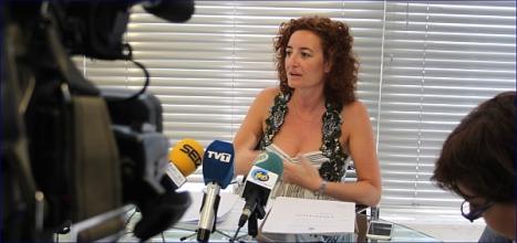 Fanny Serrano, secretaria de la Junta de Gobierno (Archivo)