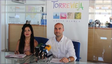 Alejandra Tévez y Pablo Samper