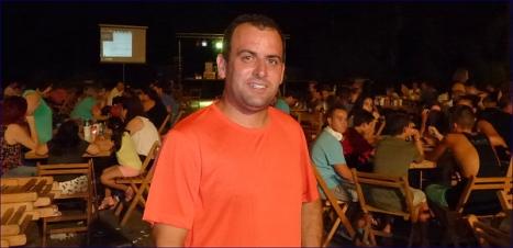 Ántonio Nortes Torreciella, Presidente de la Comisión de Fiestas del Barrio de San Roque