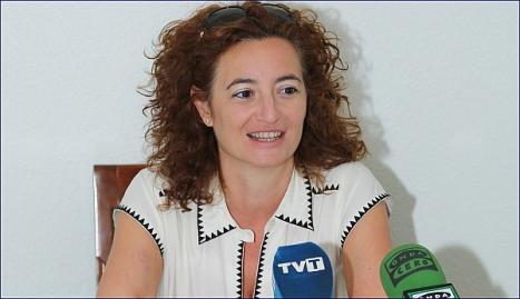 Fanny Serrano, portavoz del Gobierno