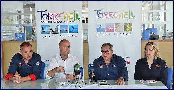 Acto de presentación del Campeonato de Europa de Socorrismo (Foto: J. Carrión)