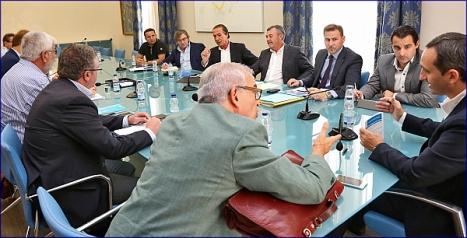 Reunión del Gobierno Provincial