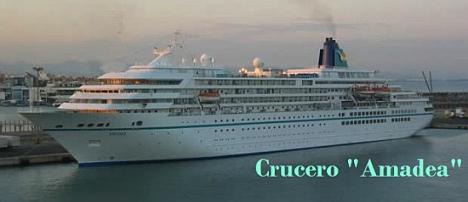 """Crucero """"Amadea"""""""