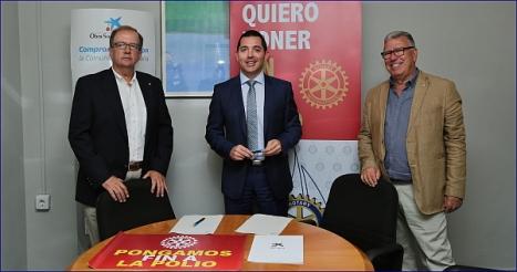 Acto de la firma del acuerdo de cooperación ayer (J. Carrión)