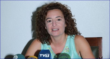 Fanny Serrrano, portavos de la JGL (Foto: J. Carrión)