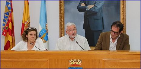 Rueda de prensa (J. Carrión)