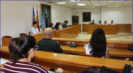 El Instituto Municipal de Cultural, el día de su constitución