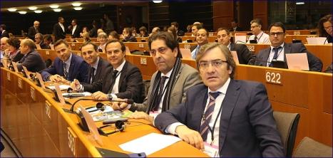 Parlamento de Brusela. Pacto de Alcaldes