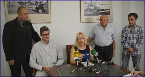 Pilar G. Magán con algunos de los miembros de la Junta Directiva