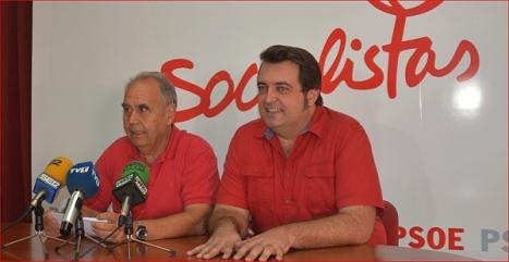 Domingo Pérez y Javier Manzanares