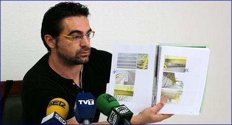 Víctor Ferrández, concejal de Fomento