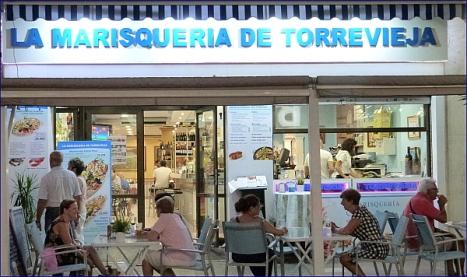 Marisquería Torrevieja en Ramón Gallud,