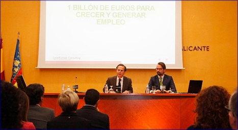Inauguracion Jornada Financiacion Europea