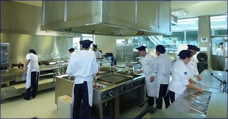 """Las cocinas del CdT, una """"Universidad"""" al servicio de la gastroomía"""