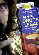 cartel Gazpacho DRoga Legal