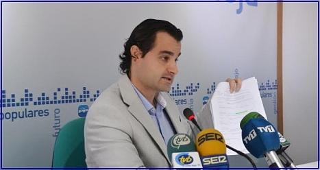 Eduardo Dolón, portavoz del PP en el Ayuntamiento de Torrevieja