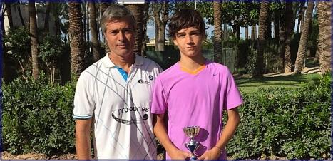 Emilio Huete campeón en Elche